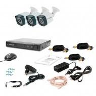 Комплект видеонаблюдения Tecsar 3OUT-3M LIGHT