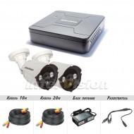 Комплект видеонаблюдения Intervision KIT-4122