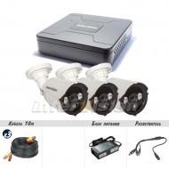 Комплект видеонаблюдения Intervision KIT-4123