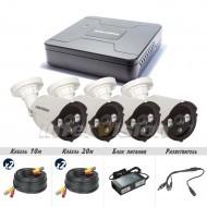 Комплект видеонаблюдения Intervision KIT-4124