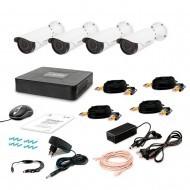 Комплект видеонаблюдения Tecsar 4OUT VARIO