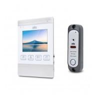 Комплект видеодомофона ATIS AD-470M S-White + AT-380HR