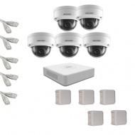 IP Комплект видеонаблюдения Hikvision(8) 2MP (FullHD) 5 купол