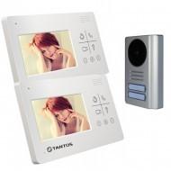 Комплект видеодомофона Tantos Lilu lux  + Stuart-2