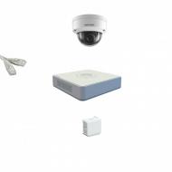 IP Комплект видеонаблюдения Hikvision Standart POE 1купольная(металл)