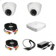 Комплект видеонаблюдения Dahua Professional 2 внутренние