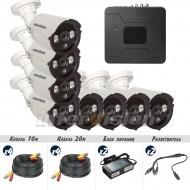 Комплект видеонаблюдения Intervision KIT-8480