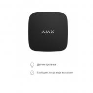 Беспроводной датчик обнаружения затопления Ajax LeaksProtect черный