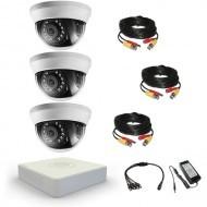 Комплект видеонаблюдения Hikvision Standart 3 внутренние