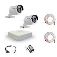 Комплект видеонаблюдения Hikvision Proffesional 2 уличные