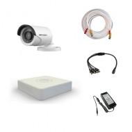 Комплект видеонаблюдения Hikvision Standart 1 уличная