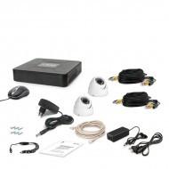 Комплект видеонаблюдения Tecsar 2OUT-DOME