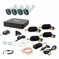 Комплект видеонаблюдения Tecsar 4OUT LIGHT