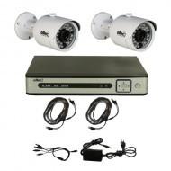 Комплект видеонаблюдения Oltec AHD-DUO-FullHD