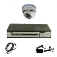 Комплект видеонаблюдения Oltec AHD-ONE-FullHD Dome