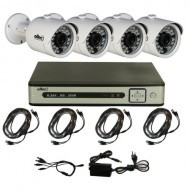 Комплект видеонаблюдения Oltec AHD-QUATTRO-FullHD