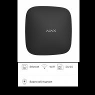 Интеллектуальная централь Ajax Hub Plus Black