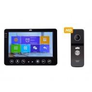 Комплект видеодомофона ATIS AD-720HD Black + AT-400HD Black