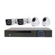 Комплект видеонаблюдения ATIS KIT CVR-2D2W-1MP