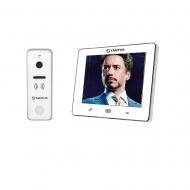 """Комплект видеодомофона Tantos Stark 9"""" (White) + Tantos iPanel2"""