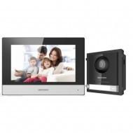 Комплект IP домофона Hikvision DS-KH6320-WTE1 + вызывная панель DS-KD8003-IME1/Surface