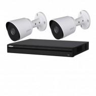 Комплект видеонаблюдения Dahua DHI-XVR5216AN-S2/DH-HAC-HFW1400TP (2.8 мм)