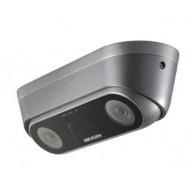 IP видеокамера Hikvision c двумя объективами и функцией подсчета людей iDS-2XM6810F-I/C (2.0мм)