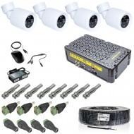 Комплект видеонаблюдения Intervision KIT-3MP-4CC