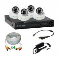 Комплект AHD видеонаблюдения COLARIX PREMIUM DOME PERIMETR