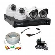 Комплект AHD видеонаблюдения COLARIX BASIC BULLET COMPLEX