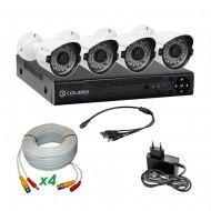 Комплект AHD видеонаблюдения COLARIX BASIC BULLET PERIMETER