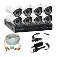 Комплект AHD видеонаблюдения COLARIX BASIC BULLET PERIMETER +