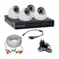 Комплект AHD видеонаблюдения COLARIX BASIC DOME COMPLEX