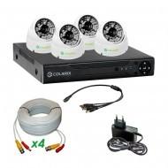 Комплект AHD видеонаблюдения COLARIX BASIC DOME PERIMETER