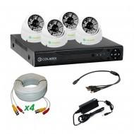 Комплект AHD видеонаблюдения COLARIX STANDART DOME PERIMETER