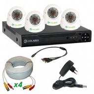 Комплект AHD видеонаблюдения COLARIX STANDART UNIVERSAL