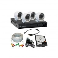 Комплект аналогового видеонаблюдения COLARIX ECONOMIC MINI