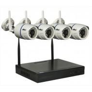 Комплект IP видеонаблюдения Oltec NVR-KIT-41 Wi-Fi