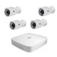 Комплект видеонаблюдения ATIS Starter Kit IP 4ext