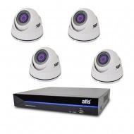 Комплект видеонаблюдения ATIS Prestige Kit IP 4int
