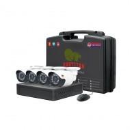Комплект видеонаблюдения PARTIZAN Outdoor Kit 2MP 4xAHD