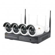 Outdoor Wireless Kit 4MP 4xIP