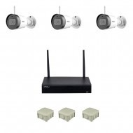 2MP WiFi Комплект видеонаблюдения IMOU  3 уличных