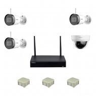 2MP WiFi Комплект видеонаблюдения IMOU 3уличн-1внутр