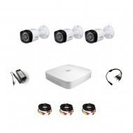 Комплект видеонаблюдения Dahua Professional 3 уличные
