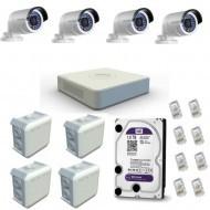 Комплект наружного ip видеонаблюдения
