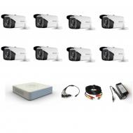 Комплект видеонаблюдения Hikvision Professional  8 уличные