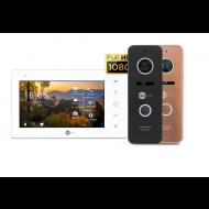 Комплект видеодомофона NeoLight NeoKIT HD Pro Black, Bronze