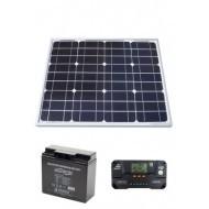 Комплект компонентов для полностью автономного бесперебойного блока питания SAFERHOMEE SUN ББП12-17