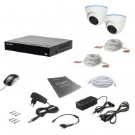 Комплект видеонаблюдения Tecsar 2IN 5MEGA